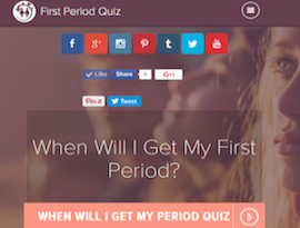 first period quiz