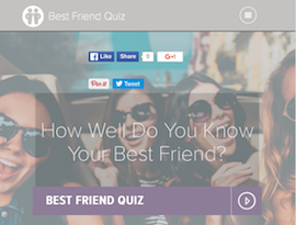 best friend quiz